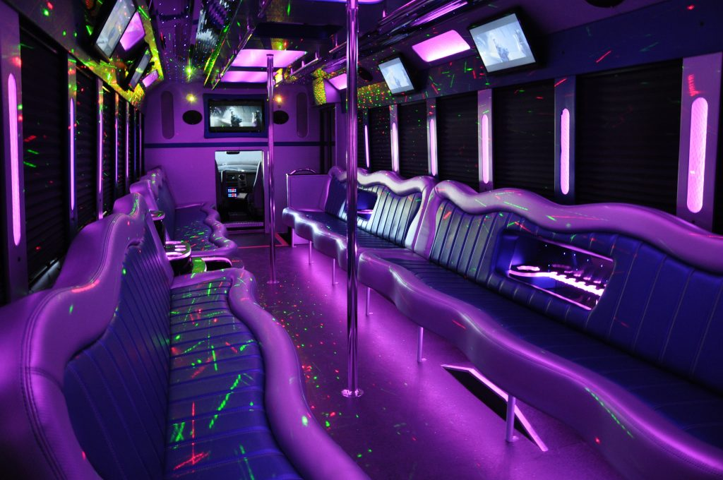 limo party bus shuttle
