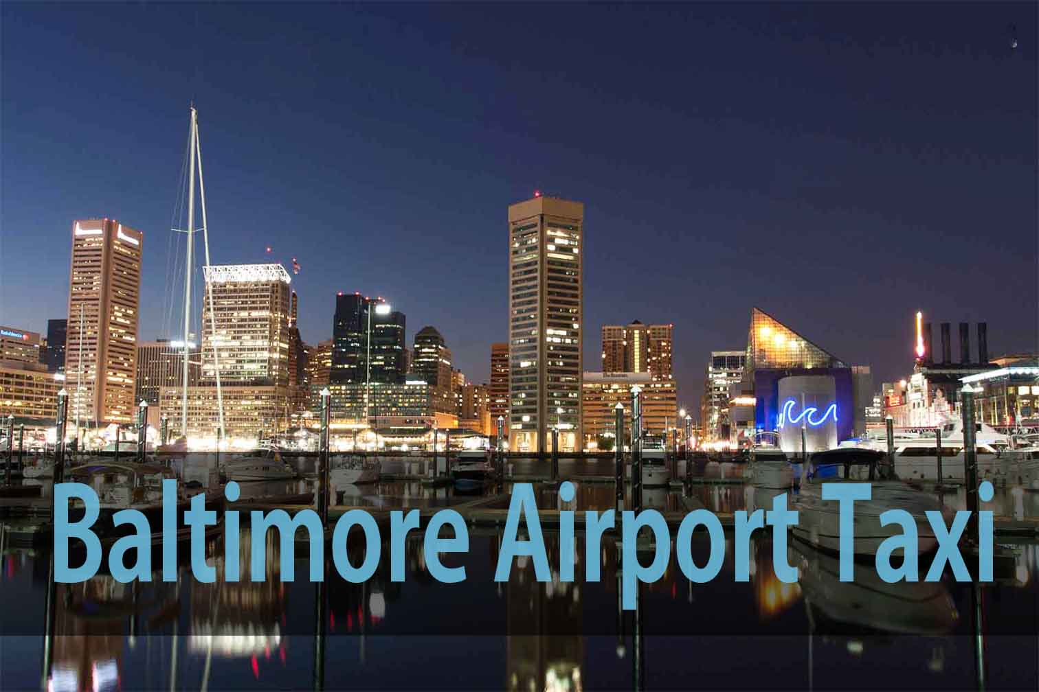 Baltimore airport taxi