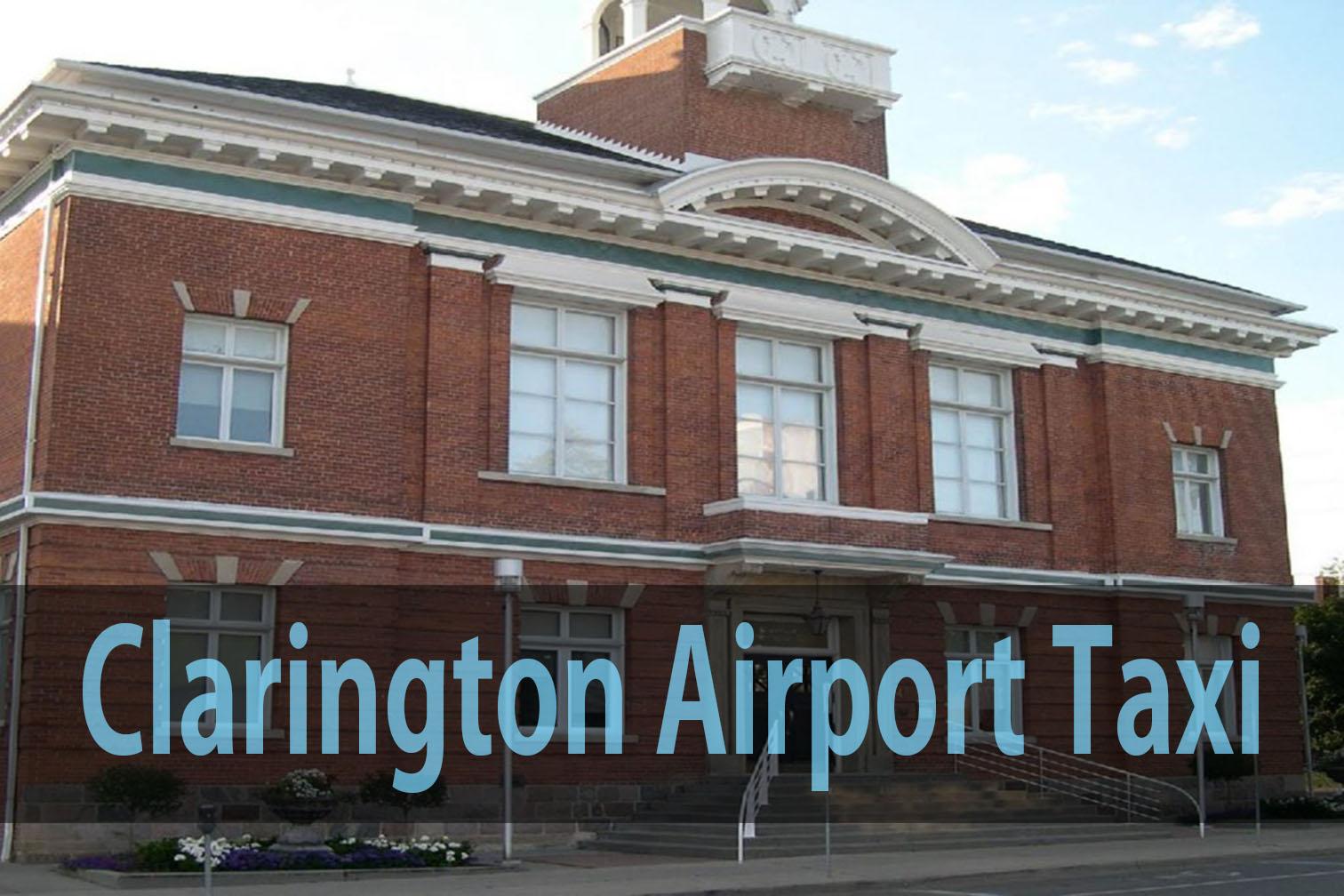 CLARINGTON airport taxi