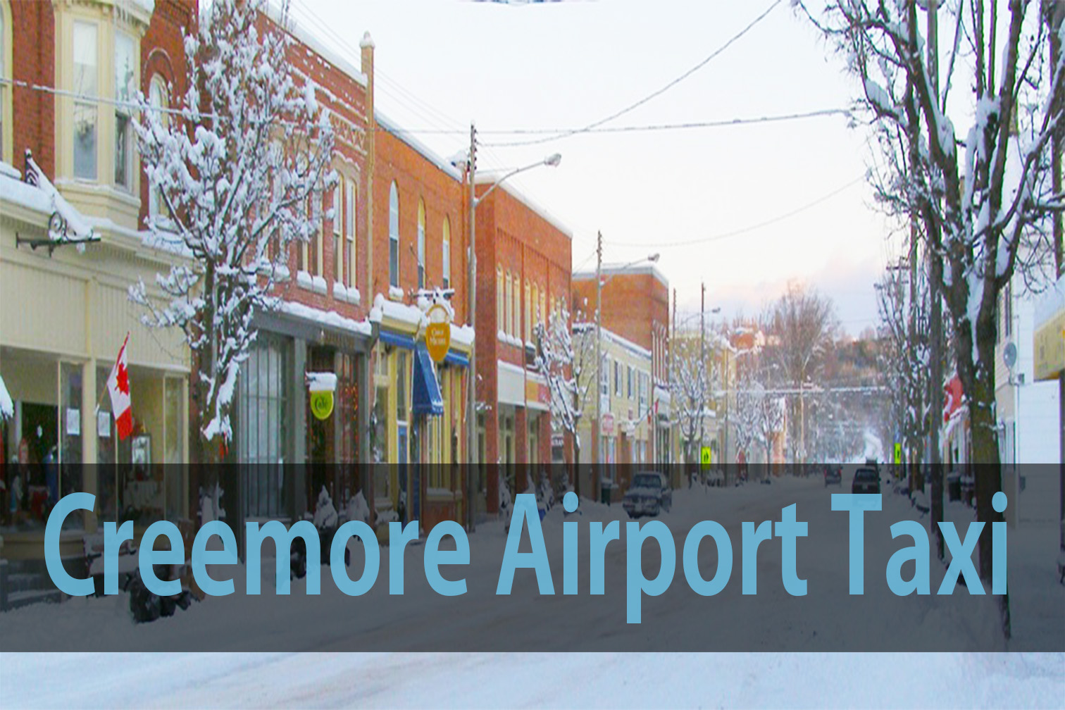 Creemore airport taxi