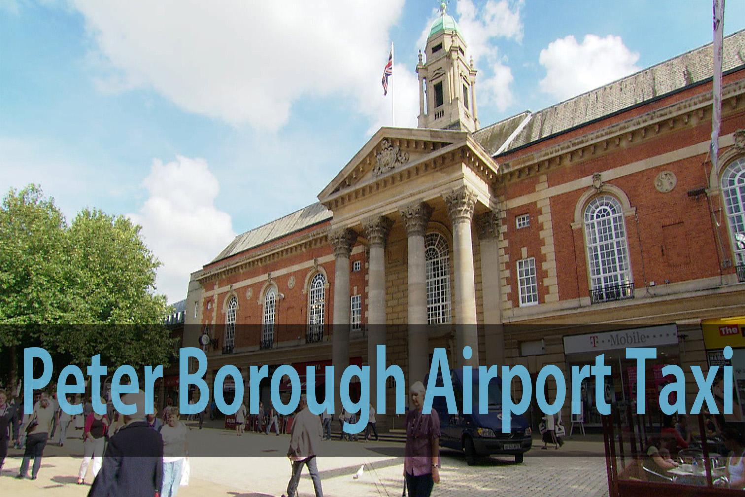 Peter Borough airport taxi