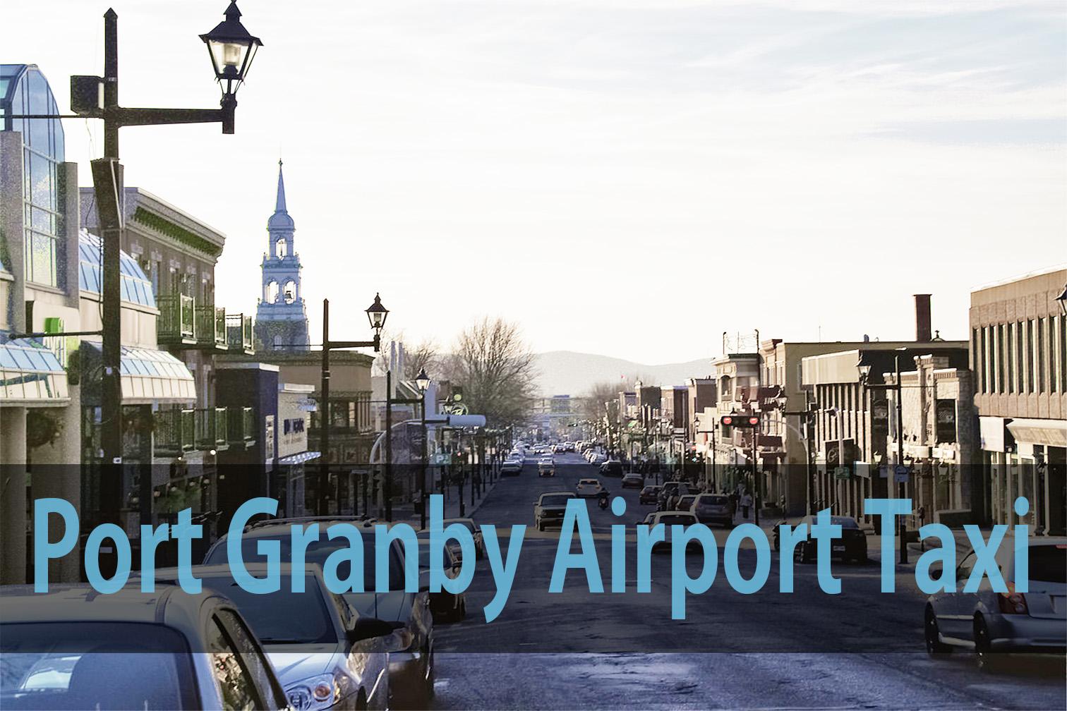 Port Granby airport taxi
