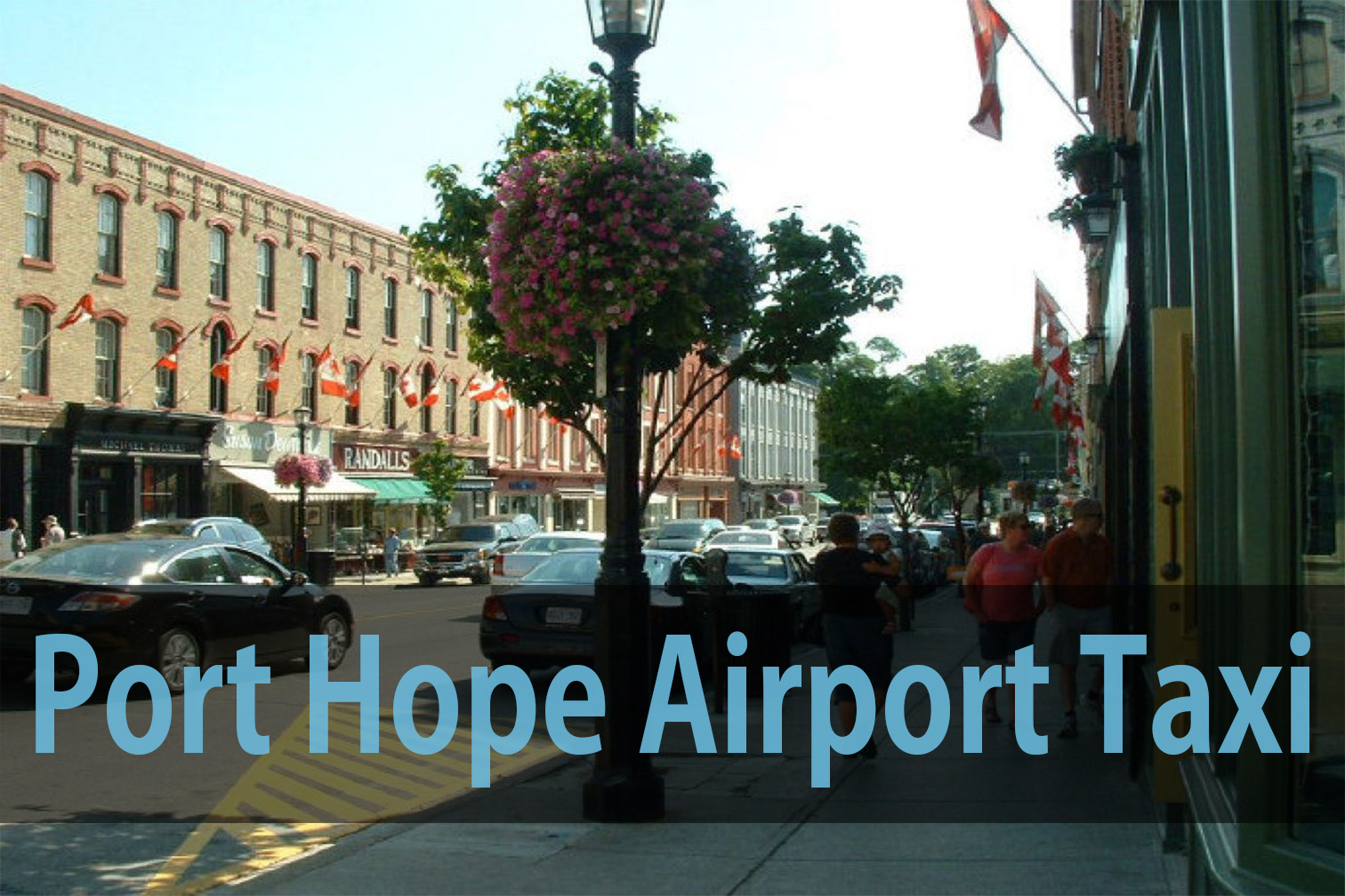 Port Hope airport taxi