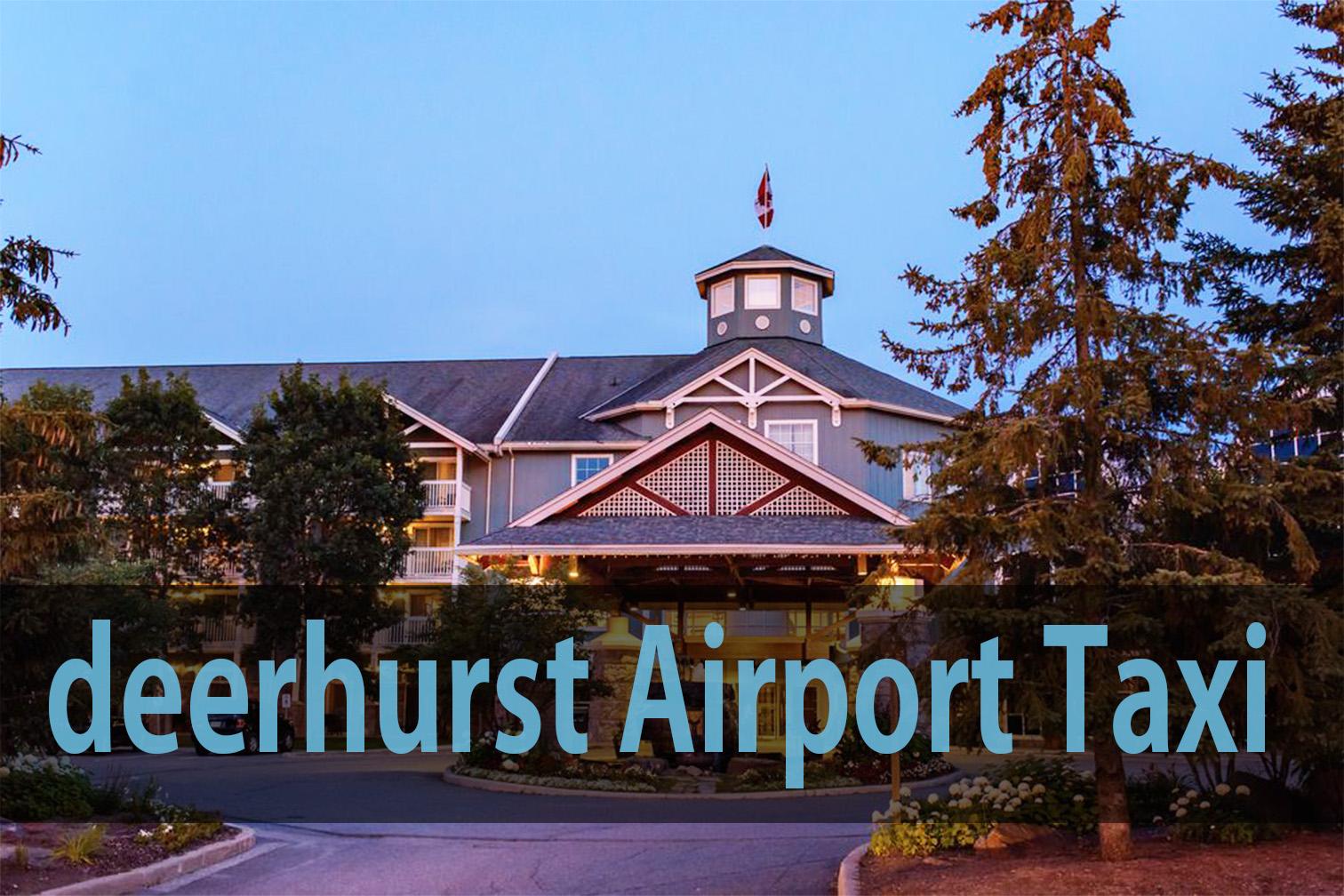 deerhurst airport taxi