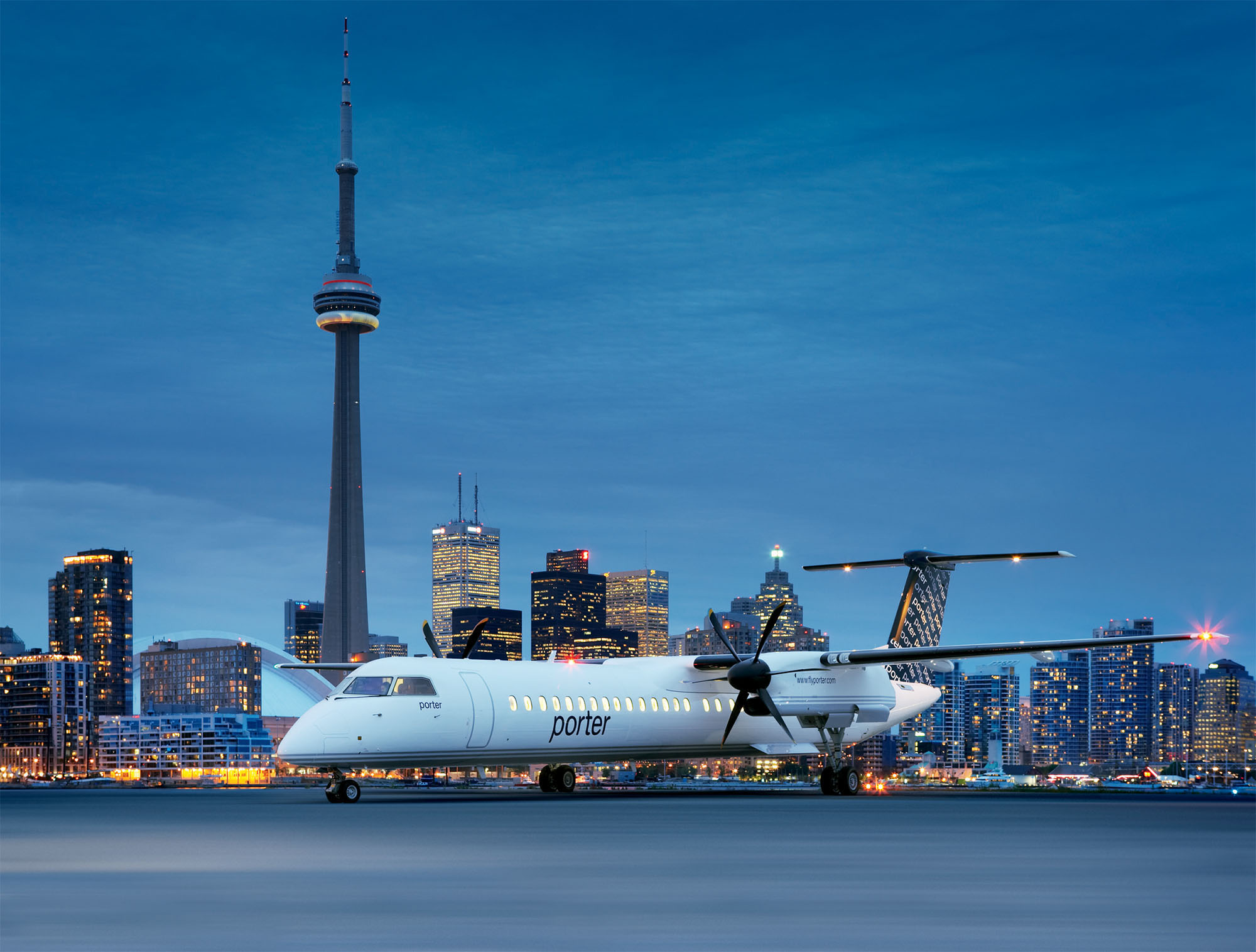 drop off to toronto airport